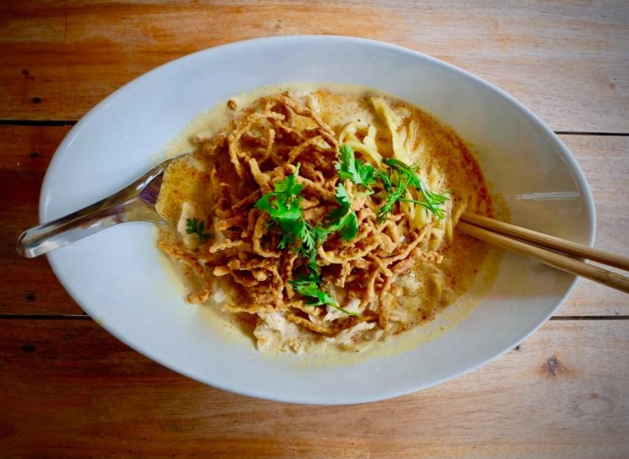 chiang mai's famous khao soi dish