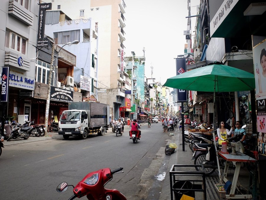 street in ho chi minh city