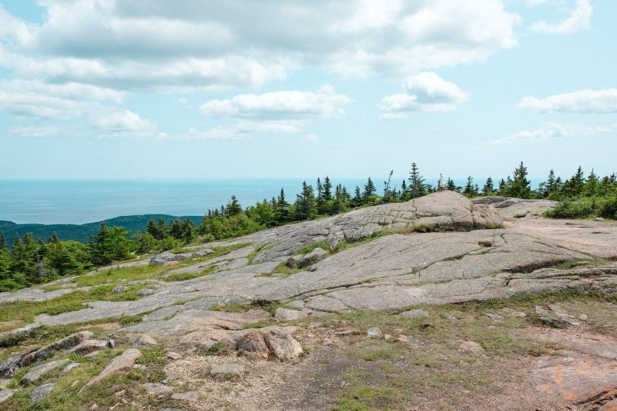 cadillac mountain in acadia national park