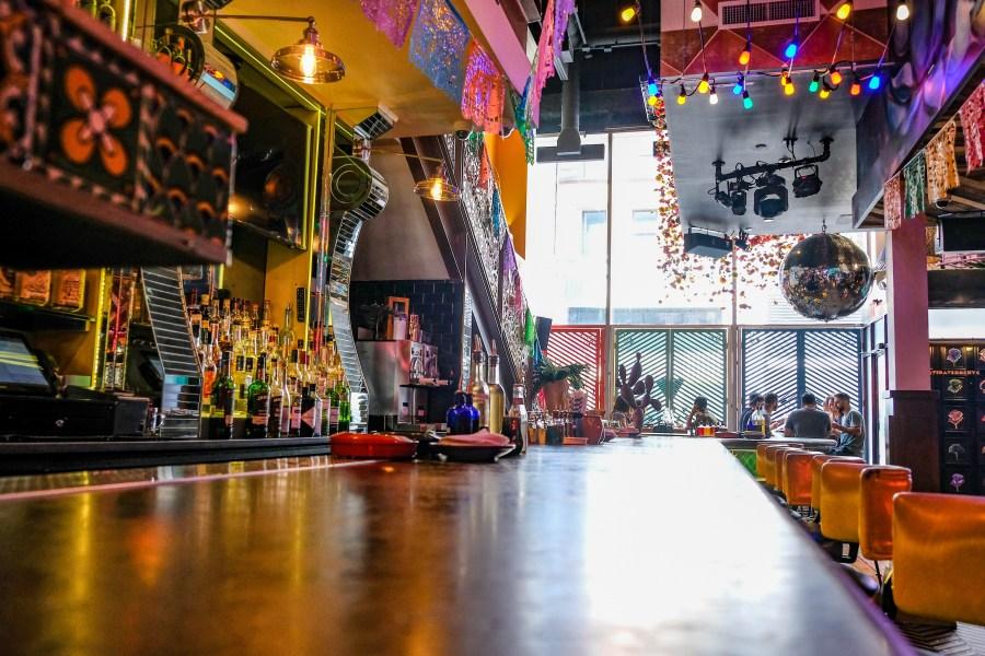 interior of vida verde bar