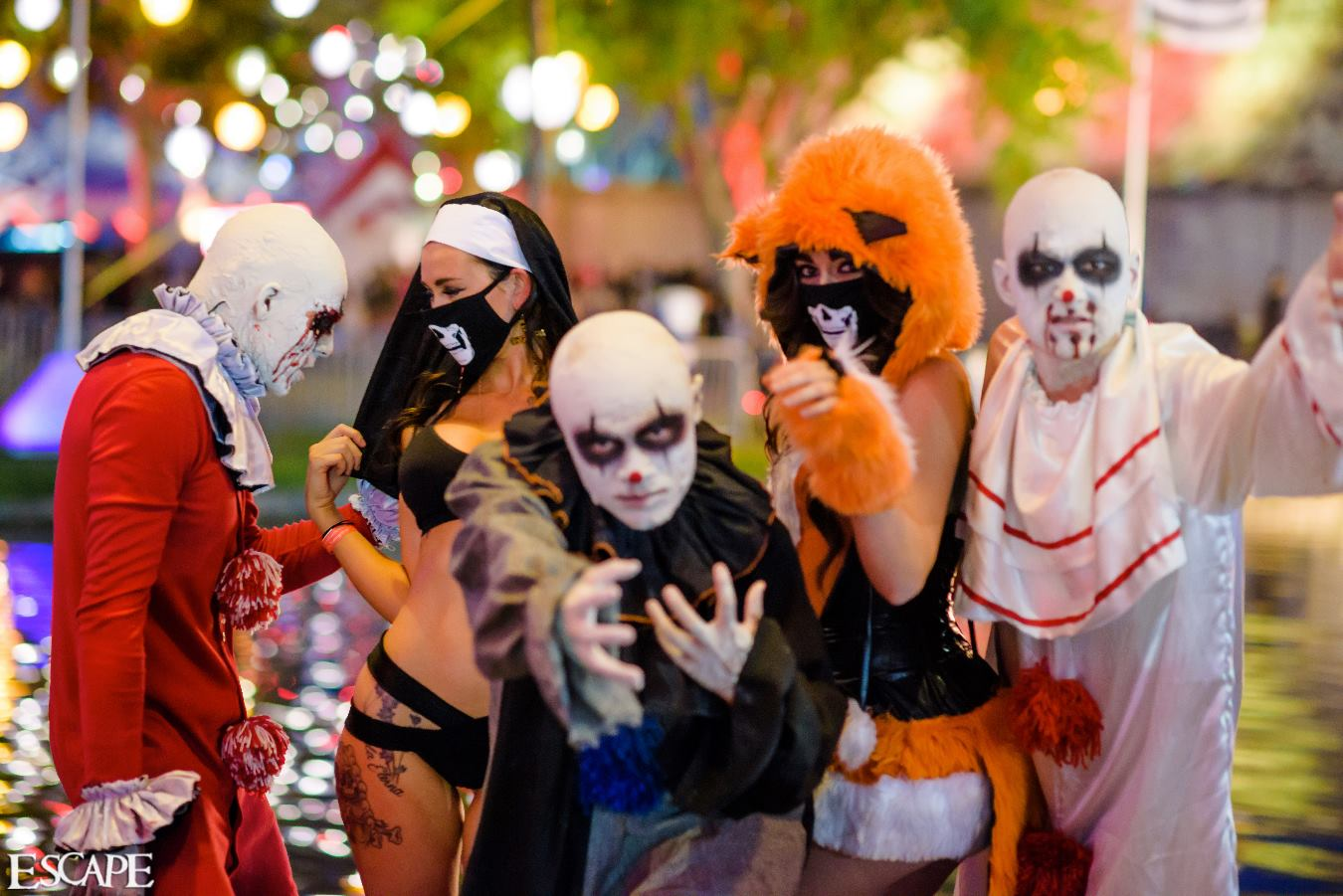 Escape Halloween: Psycho Circus Returns to SoCal for 2017 Edition