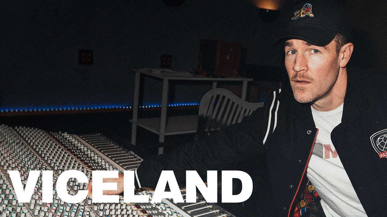 James Van Der Beek plays Diplo in mockumentary