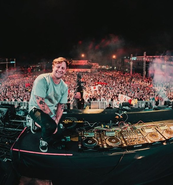Kayzo Takes Center Stage in Rock & Electronic Crossover in