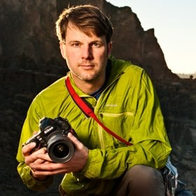 Portrait of National Geographic Creative photographer, Jonathan Kingston.