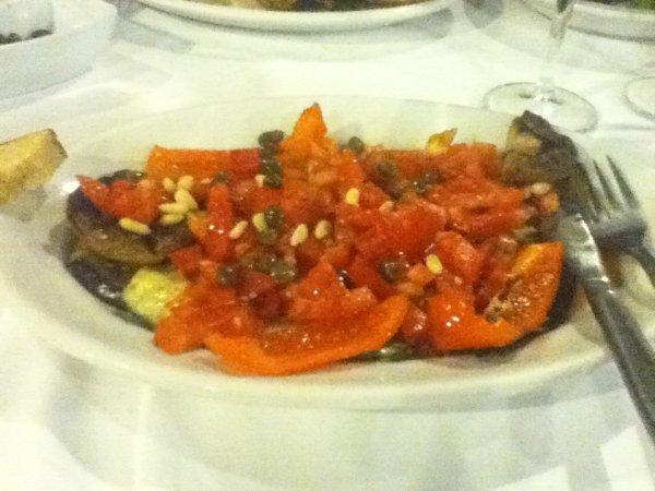 Grilled vegetable platter, Rhodes