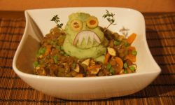 Monster Mash - vegan halloween meal
