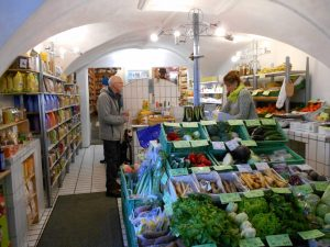Rägawurm health food store, Chur, Graubunden, Switzerland
