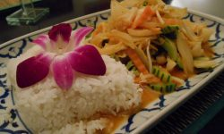 Vegetable Panang curry, Teria Thai Restaurant, Chur, Graubunden, Switzerland