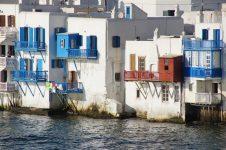 Vegan travel in Mykonos, Greece