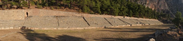 Vegan travel in Lamia and Delphi, Greece