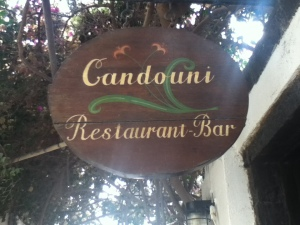 Vegan-friendly Kandouni Restaurant in Oia, Santorini