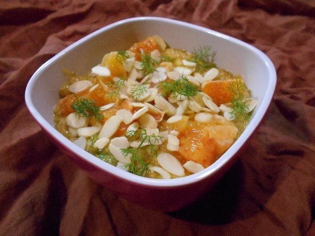 Blood Orange, Almond and Wild Fennel Oatmeal