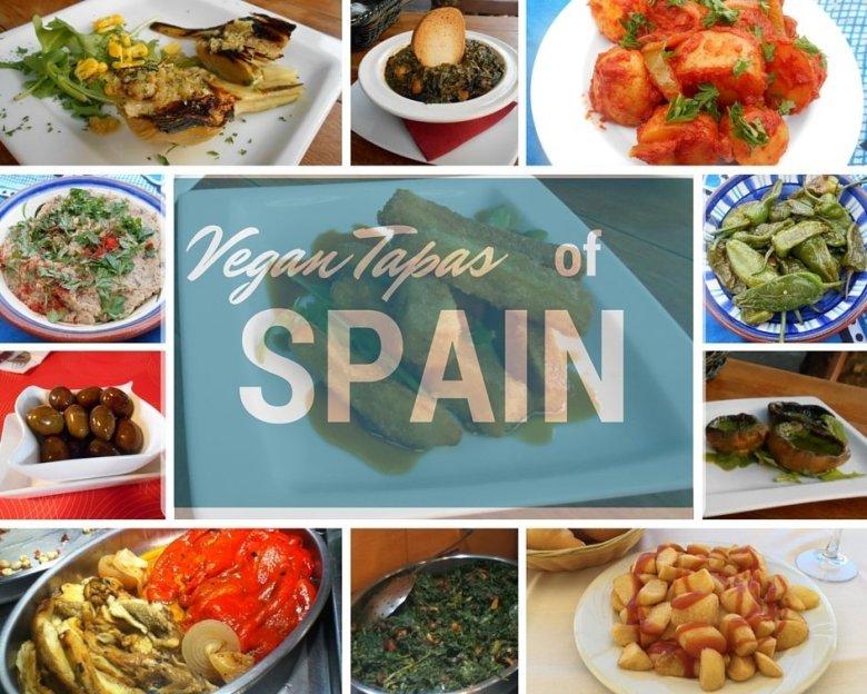Vegan tapas in Spain