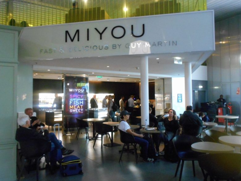 Miyou - chic Japanese café in Charles de Gaulle airport