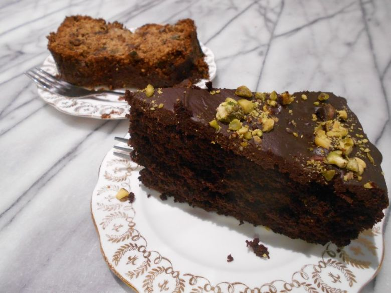 Chocolate Pistachio Cake and Banana Bread at Kitch, Cannterbury