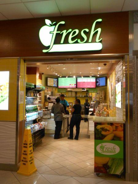 Fresh Healthy Café  - vegan food in the Atlanta Airport