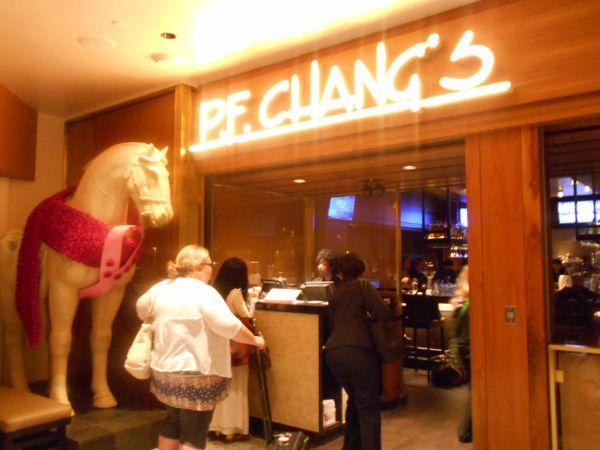 P.F. Chang's - vegan food in the Atlanta Airport