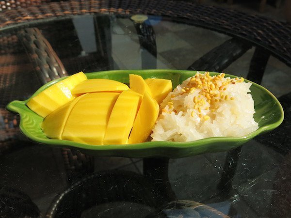 1-Mango Sticky Rice - vegan in Southeast Asia