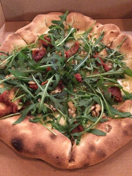 Vegan pizza - purezza pizza - Brighton