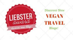 Liebster Award for Vegan Travel Blogs