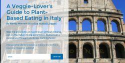 Veggie-Lover's Guide to Eating Vegan in Italy