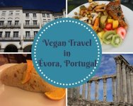 Vegan Travel in Évora, Portugal - vegan in Évora