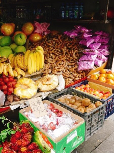 Fruit stall - Living The China Study