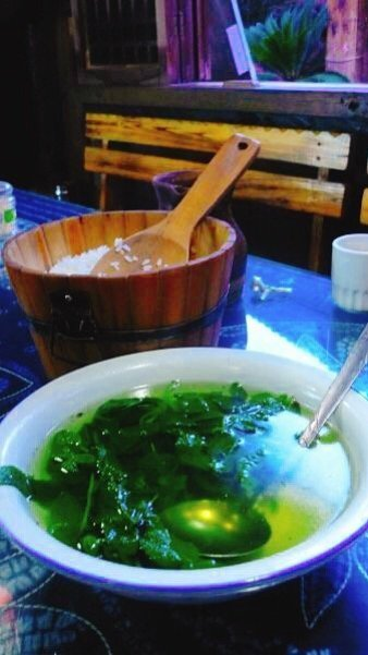 Mint and ginger soup - Living The China Study