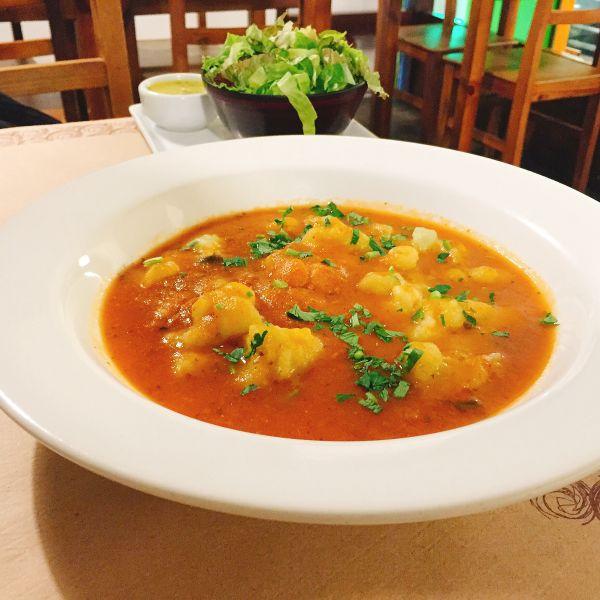 Gnocchi in tomato sauce - Rio 2016 - Vegan stories