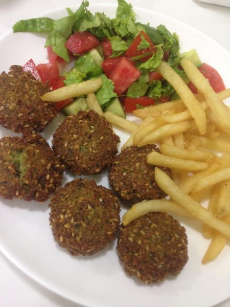 Falafel in Uzbekistan - how to be vegan on the Mongol Rally