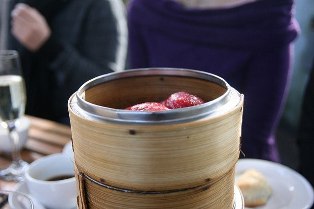 Yum cha dumplings - Bodhi - Vegan Food in Sydney