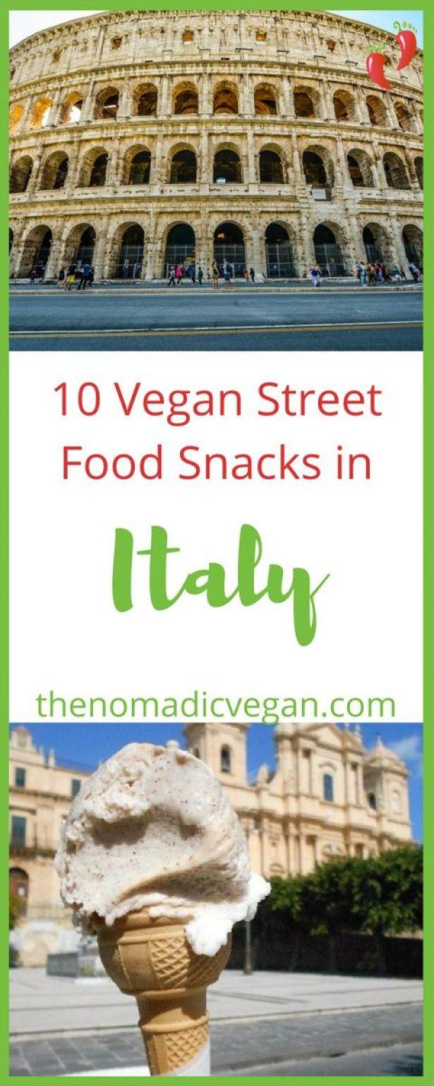 10 Vegan Street Food Snacks in Italy