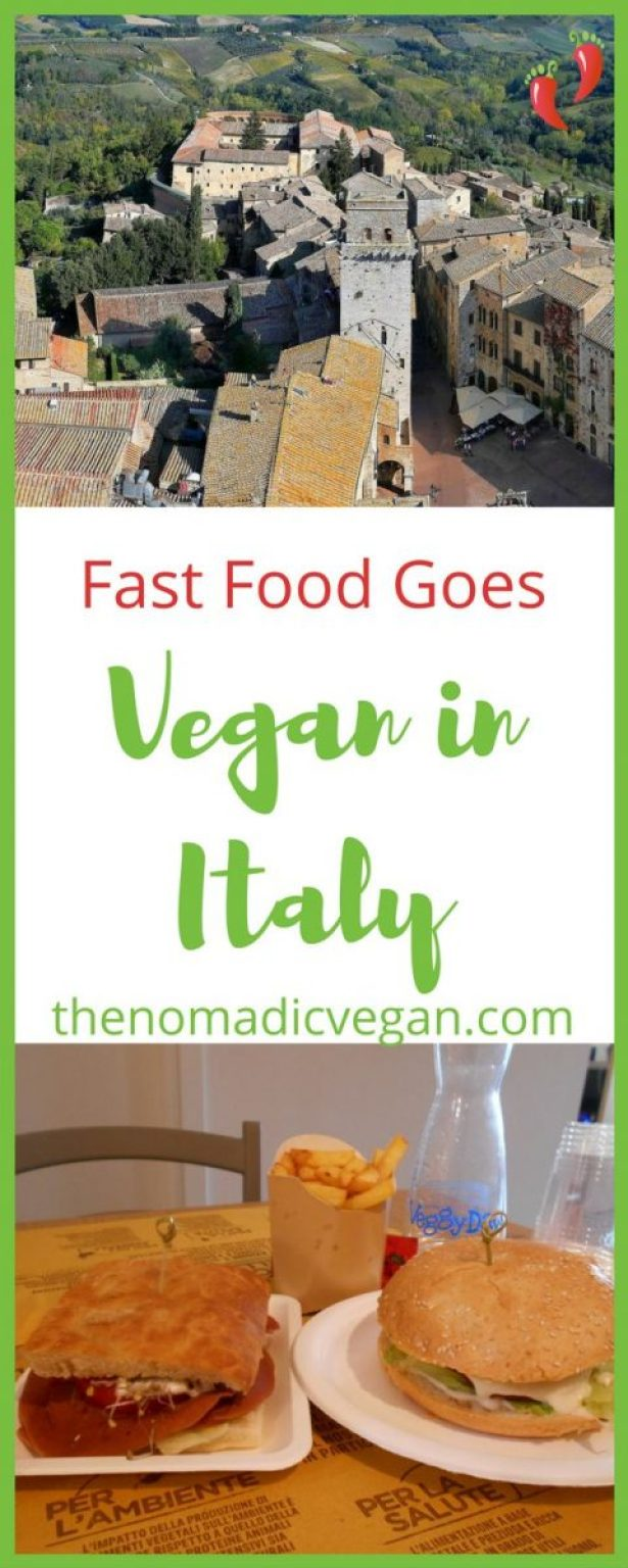 Fast Food Goes Vegan in Italy