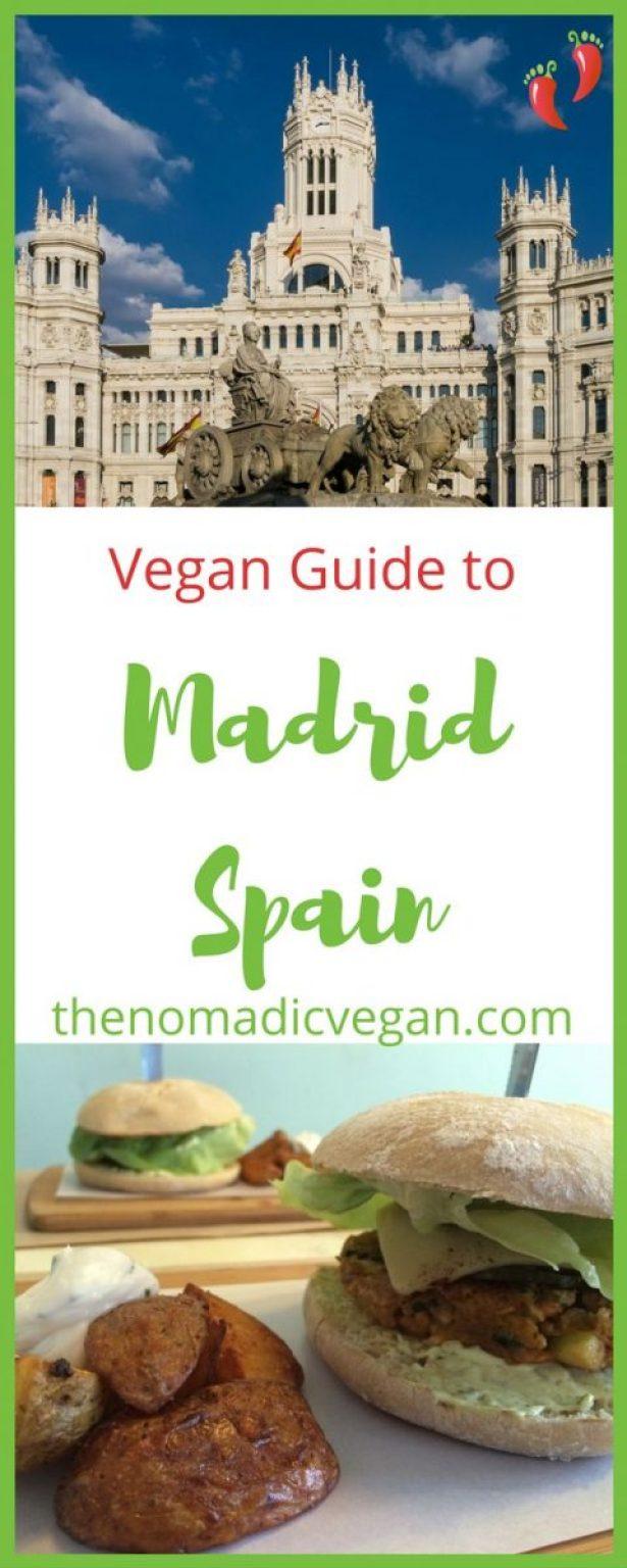 Vegan Guide to Madrid Spain