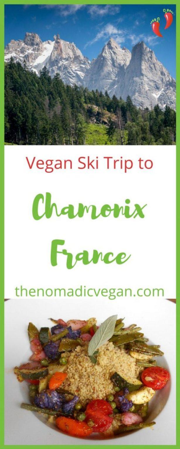 Vegan Ski Trip to Chamonix France
