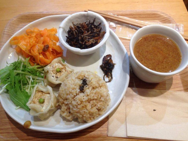 A vegan meal in Tokyo - vegan in Japan