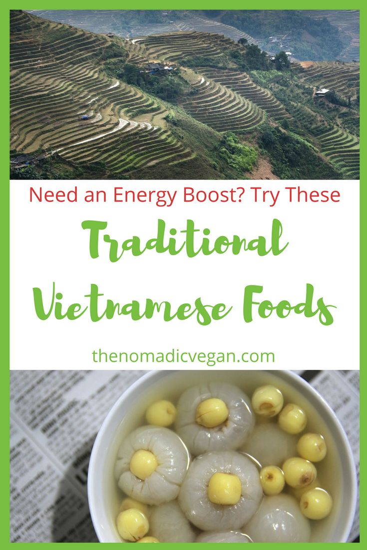Traditional Foods You Must Try in Vietnam if You Need an Energy Boost