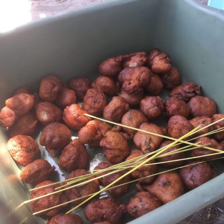 badjia - cowpea fritters - tasty African food