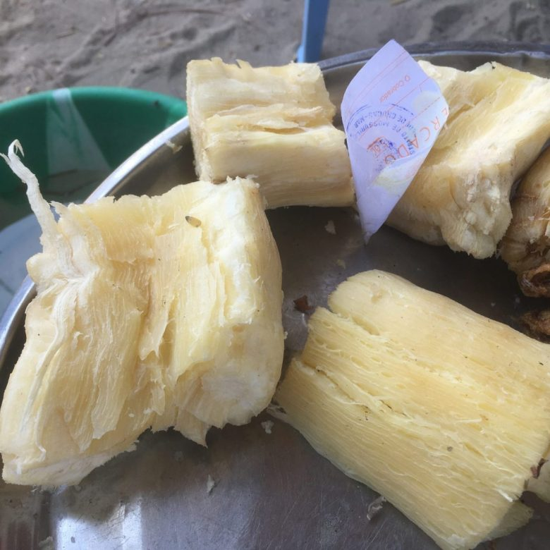 mandioca - cassava root - tasty African food