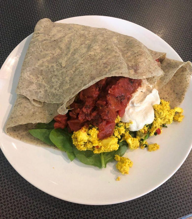 Lucy's Cafe | Vegan Crepe  |  vegan food Grand Rapids MI