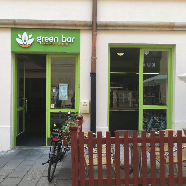Green Bar Olomouc vegetarian restaurant