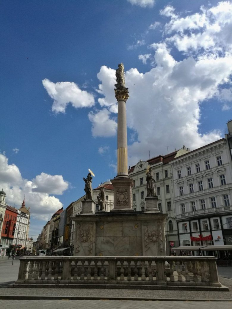 Plague column in Freedom Square - Brno what to see