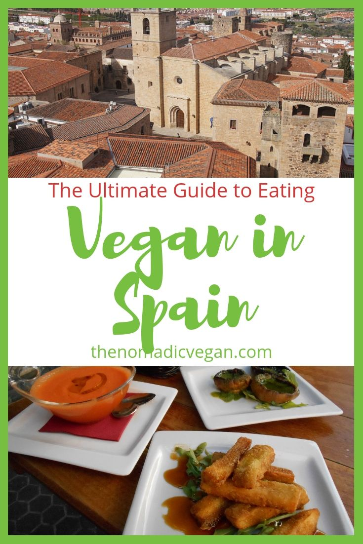 The Ultimate Guide to Vegan Spain