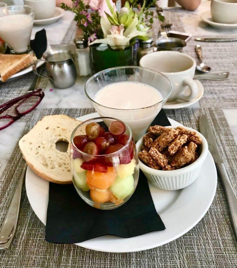 Vegan breakfast New Orleans at the Saint Hotel