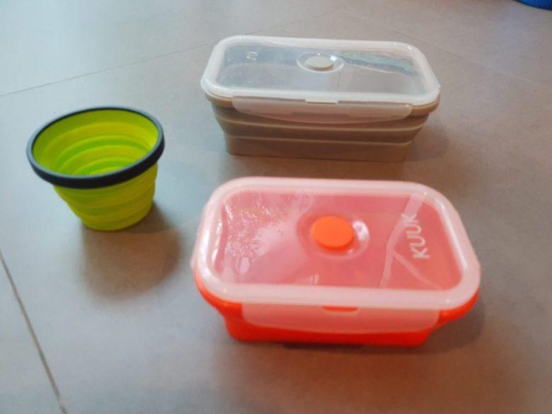 reusable containers - zero waste ideas