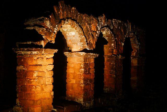 Trinidad Paraguay at night