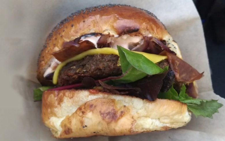 Big V Vegan Burger - best markets in London