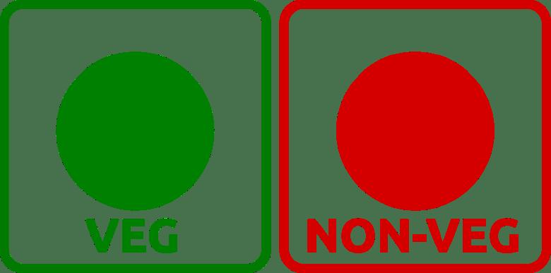 Veg and Non-Veg Symbols in India Vegetarian Non-Vegetarian
