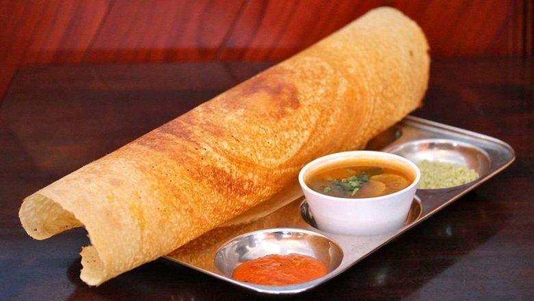 dosa - best vegan Indian dishes