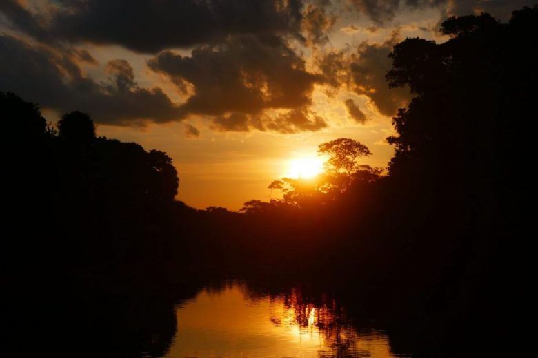 Pantanal tours sunset